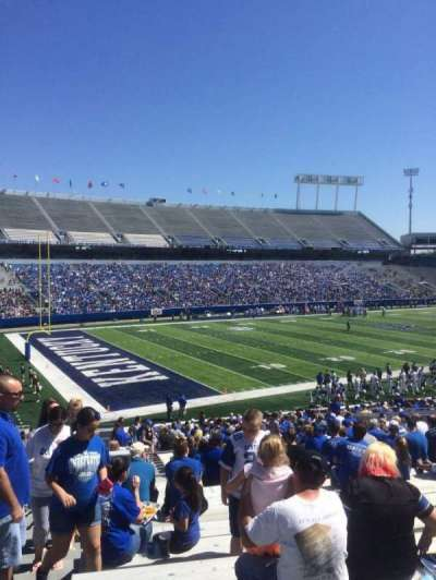 Commonwealth Stadium, section: 22, row: 34, seat: 1