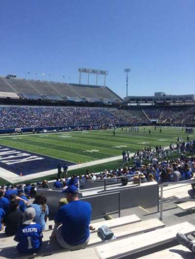 Kroger Field, section: 21, row: 26, seat: 16