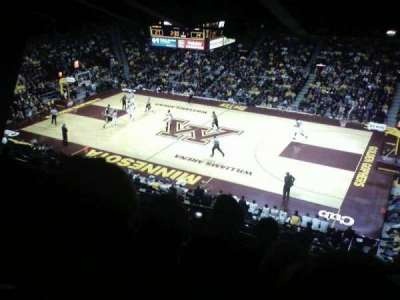 Williams Arena section 205