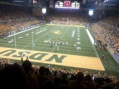 Fargodome, section: 8, row: AA