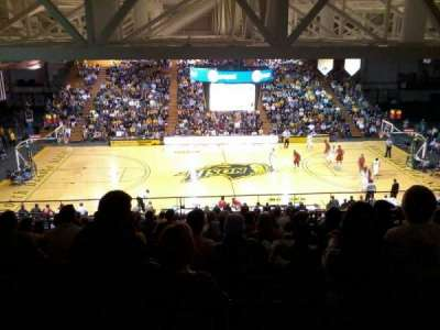 Bison Sports Arena, section: E, row: 16, seat: 5