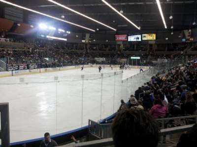 Scheels Arena, section: 111, row: H, seat: 23