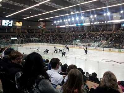 Scheels Arena, section: 115, row: k, seat: 22