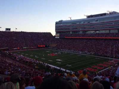 Memorial Stadium, section: 41, row: 66, seat: 7