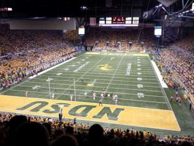 Fargodome, section: 8, row: HH, seat: 9