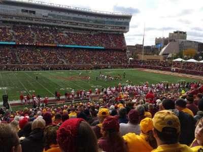 TCF Bank Stadium, section: 112, row: 31, seat: 24