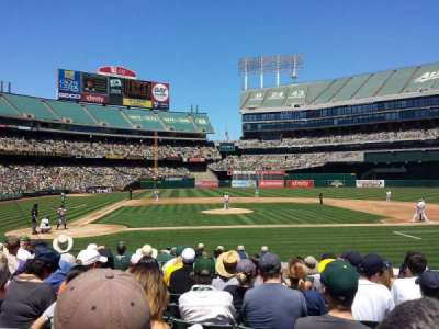 Oakland Alameda Coliseum, section: MVP Box 114, row: 14, seat: 10
