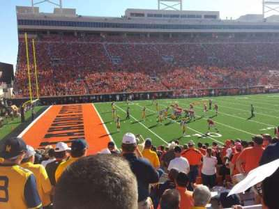 Boone Pickens Stadium section 227