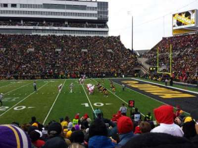 Kinnick Stadium section 103