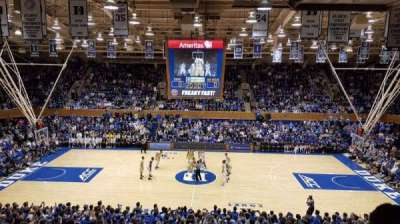 Cameron Indoor Stadium, section: 15, row: M, seat: 18