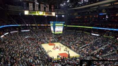 Philips Arena, section: 305, row: F, seat: 1