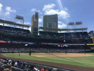 PETCO Park, section: 115, row: 6, seat: 22