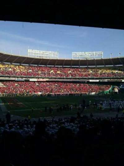 RFK Stadium section 113