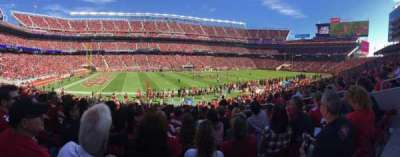 Levi's Stadium, section: 142, row: 20, seat: 11