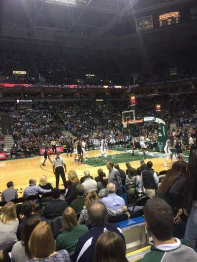 BMO Harris Bradley Center, section: 214, row: E, seat: 3
