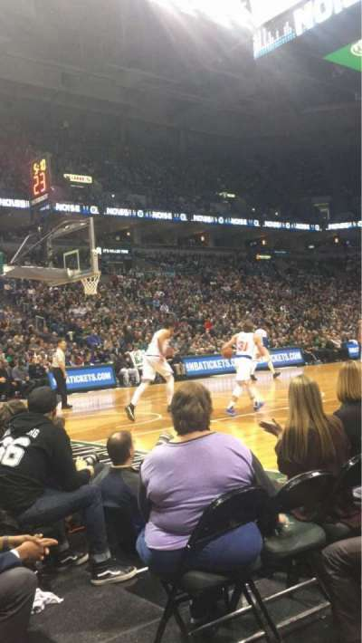 BMO Harris Bradley Center, section: 216, row: CCC, seat: 13