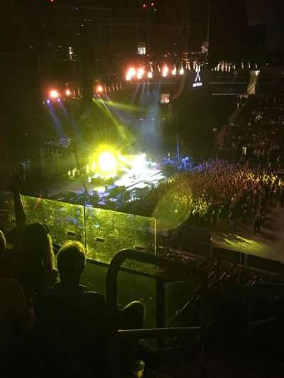 Madison Square Garden, section: 225, row: 6, seat: 1