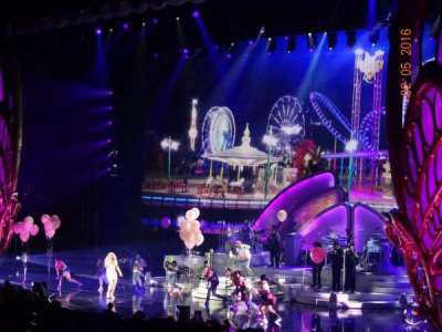 The Colosseum At Caesars Palace, section: REAR ORCHESTRA 2, row: P, seat: 202-203