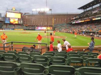 Oriole Park at Camden Yards, section: 46, row: 5, seat: 8