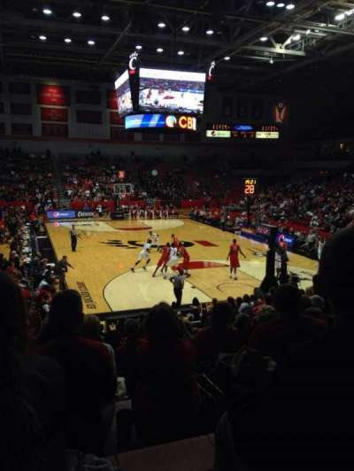 Fifth Third Arena, section: 114, row: 16, seat: 9