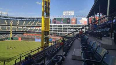 Globe Life Park in Arlington section 243