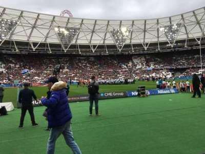 London Stadium section 106