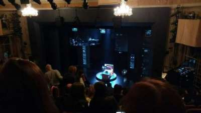 Music Box Theatre, section: MEZZ, row: K, seat: 10