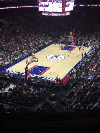 Wells Fargo Center, section: 221, row: 3, seat: 6