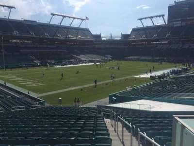 Hard Rock Stadium, section: 126, row: 27, seat: 1
