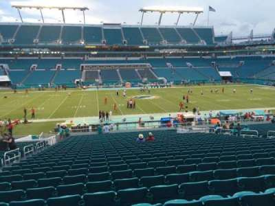Hard Rock Stadium, section: 119, row: 34, seat: 17