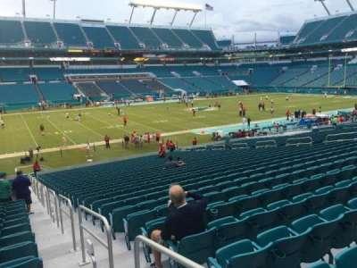 Hard Rock Stadium, section: 122, row: 32, seat: 1