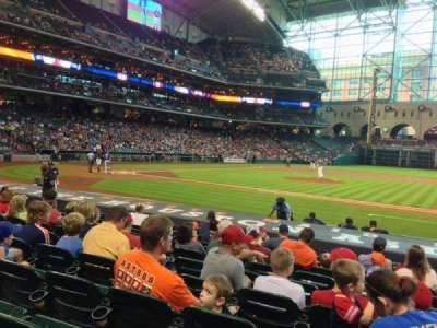 Minute Maid Park, section: 125, row: 14, seat: 16