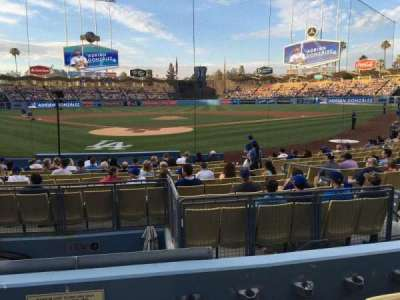 Dodger Stadium, section: 4FD, row: D, seat: 1