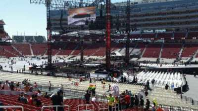 Levi's Stadium, section: 111, row: 24, seat: 13