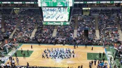 BMO Harris Bradley Center, section: 443, row: S, seat: 11