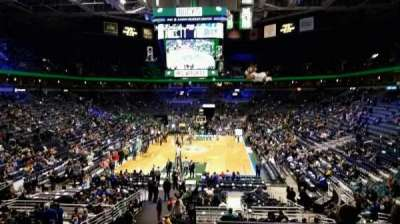 BMO Harris Bradley Center, section: 221, row: Y, seat: 3