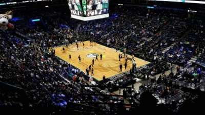 BMO Harris Bradley Center, section: 438, row: J, seat: 1
