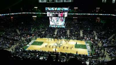 BMO Harris Bradley Center, section: 421, row: T, seat: 10