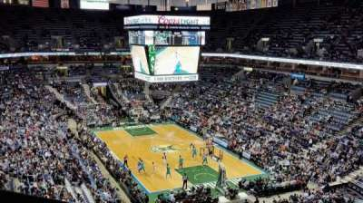 BMO Harris Bradley Center, section: 414, row: H, seat: 14