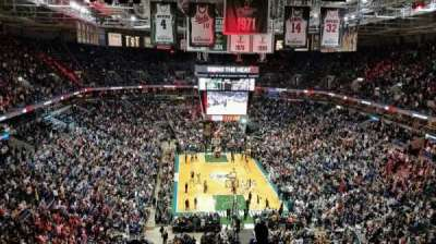 BMO Harris Bradley Center, section: 412, row: Q, seat: 5