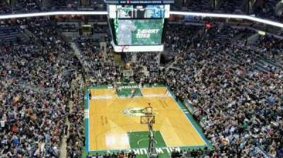 BMO Harris Bradley Center, section: 412, row: R, seat: 6