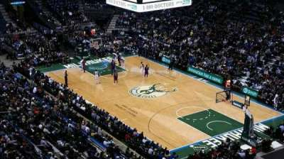 BMO Harris Bradley Center, section: 416, row: R, seat: 2