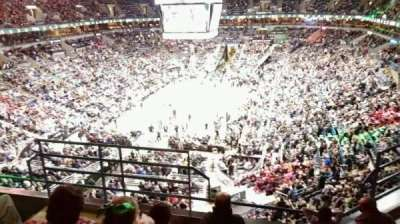 BMO Harris Bradley Center, section: 409, row: E, seat: 15