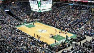 BMO Harris Bradley Center, section: 438, row: S, seat: 7