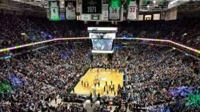 BMO Harris Bradley Center, section: 410, row: P, seat: 10