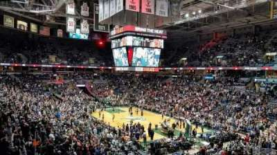 BMO Harris Bradley Center, section: 226, row: Z, seat: 1