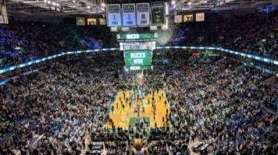 BMO Harris Bradley Center, section: 433, row: N, seat: 1