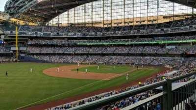Miller Park, section: 230, row: 1, seat: 8