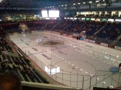 Meridian Centre, section: Club F, row: C, seat: 1