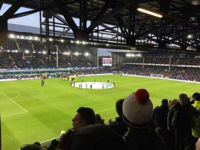 Goodison Park section UV1